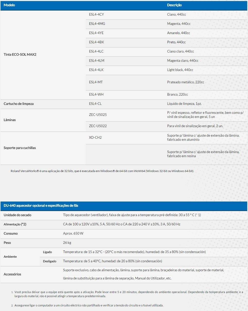 SOLJET PRO4 XR-640 ac